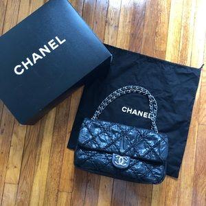 cd1e27e81a16 Chanel Ultra Stitch Sac Classic Rabat flap bag.